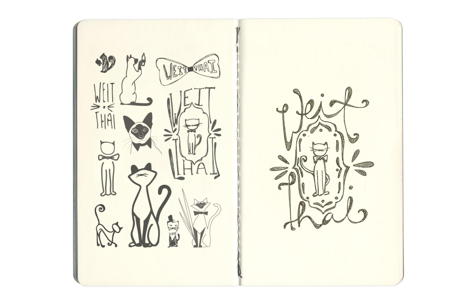 Beer packaging sketches
