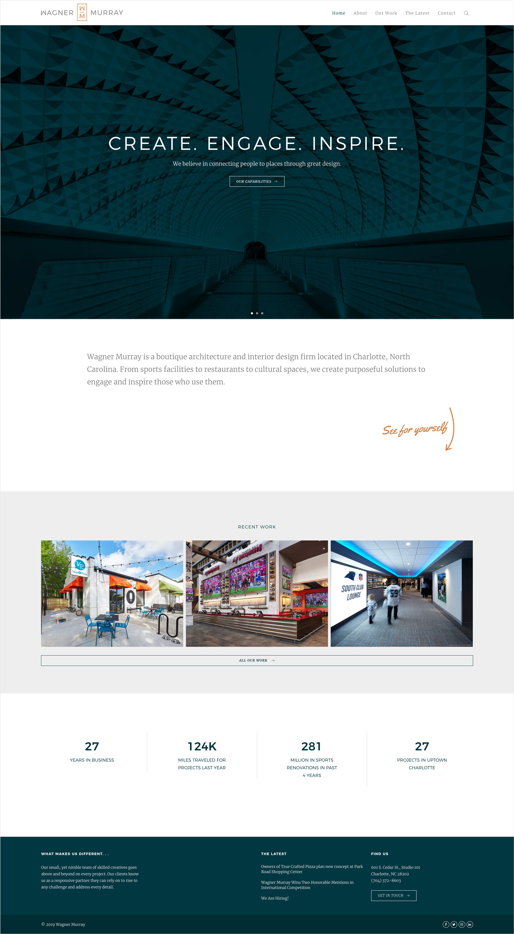 Wagner Murray Homepage