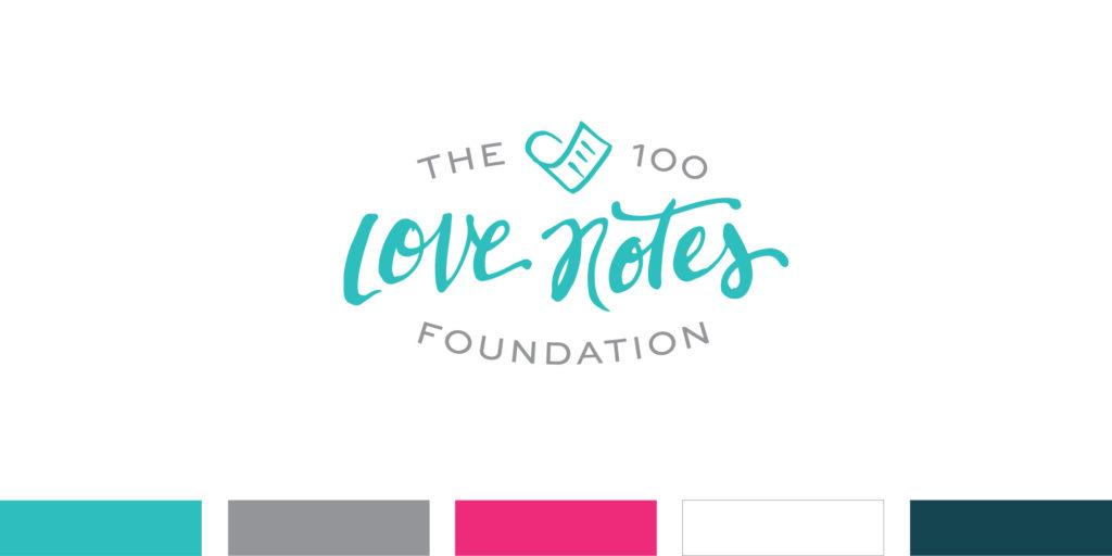 100 Love Notes Logo