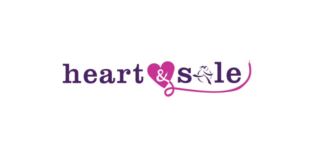 Girls On The Run Heart & Sole logo designed by Moonlight Creative.