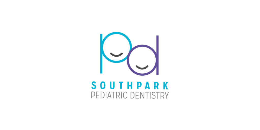 South Park Pediatric Dentistry logo designed by Moonlight Creative.