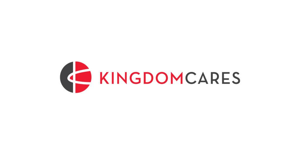 Kingdom Cares logo designed by Moonlight Creative.