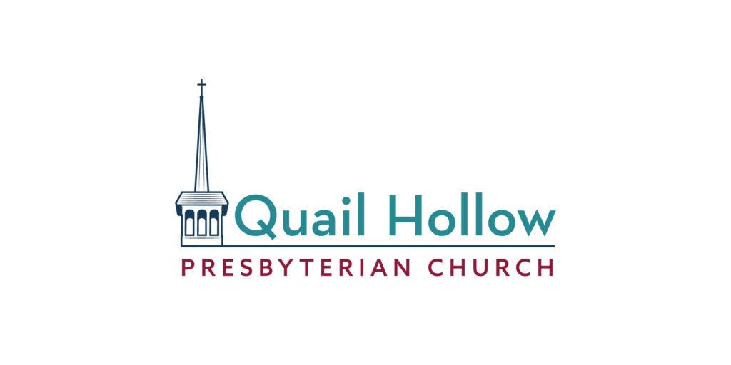 Quail Hollow Presbyterian Church logo designed by Moonlight Creative.