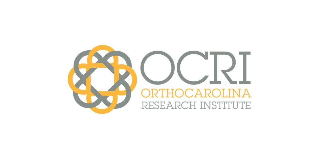 OCRI Orthocarolina logo designed by Moonlight Creative.