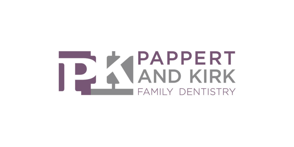 Pappert and Kirk logo designed by Moonlight Creative.