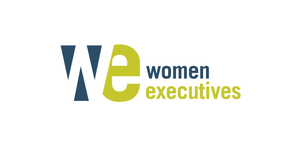 Women Executives logo designed by Moonlight Creative.