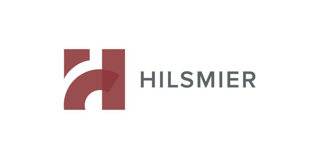 Hilsmier logo designed by Moonlight Creative.