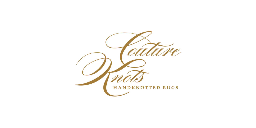 Couture Knots logo designed by Moonlight Creative.