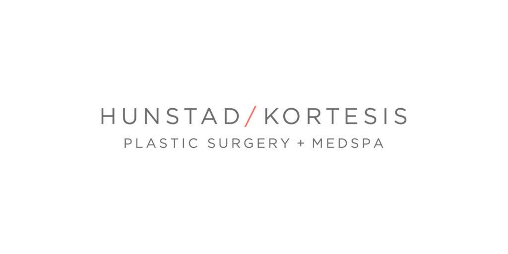Hunstad Kortesis logo designed by Moonlight Creative.