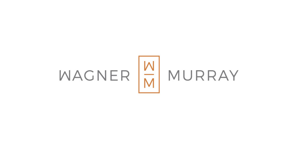 Wagner Murray logo designed by Moonlight Creative.